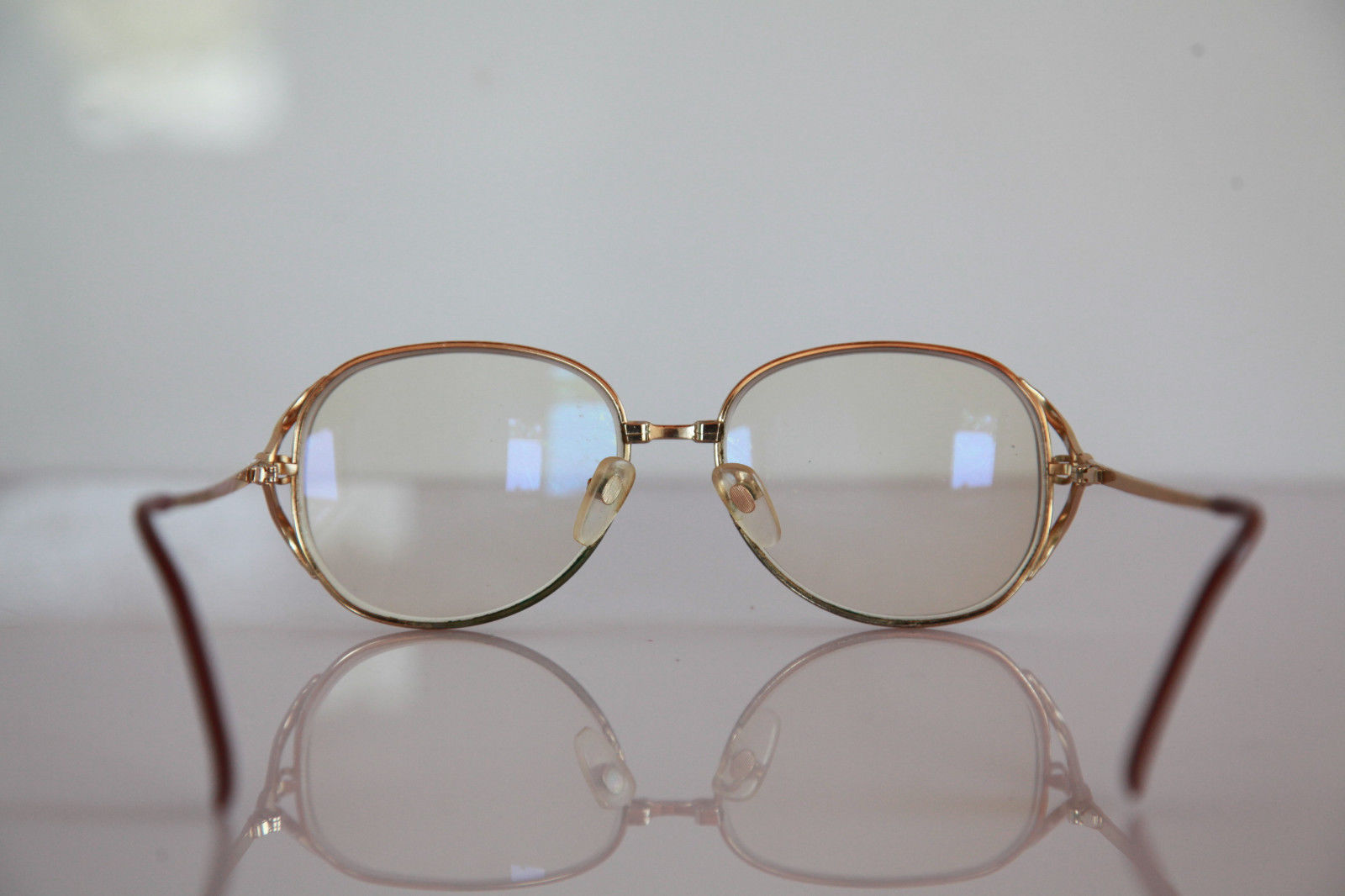 Eyeglasses Frame Made In Germany : DUNKER Eyewear, Gold Frame, RX-Able Prescription Lenses ...