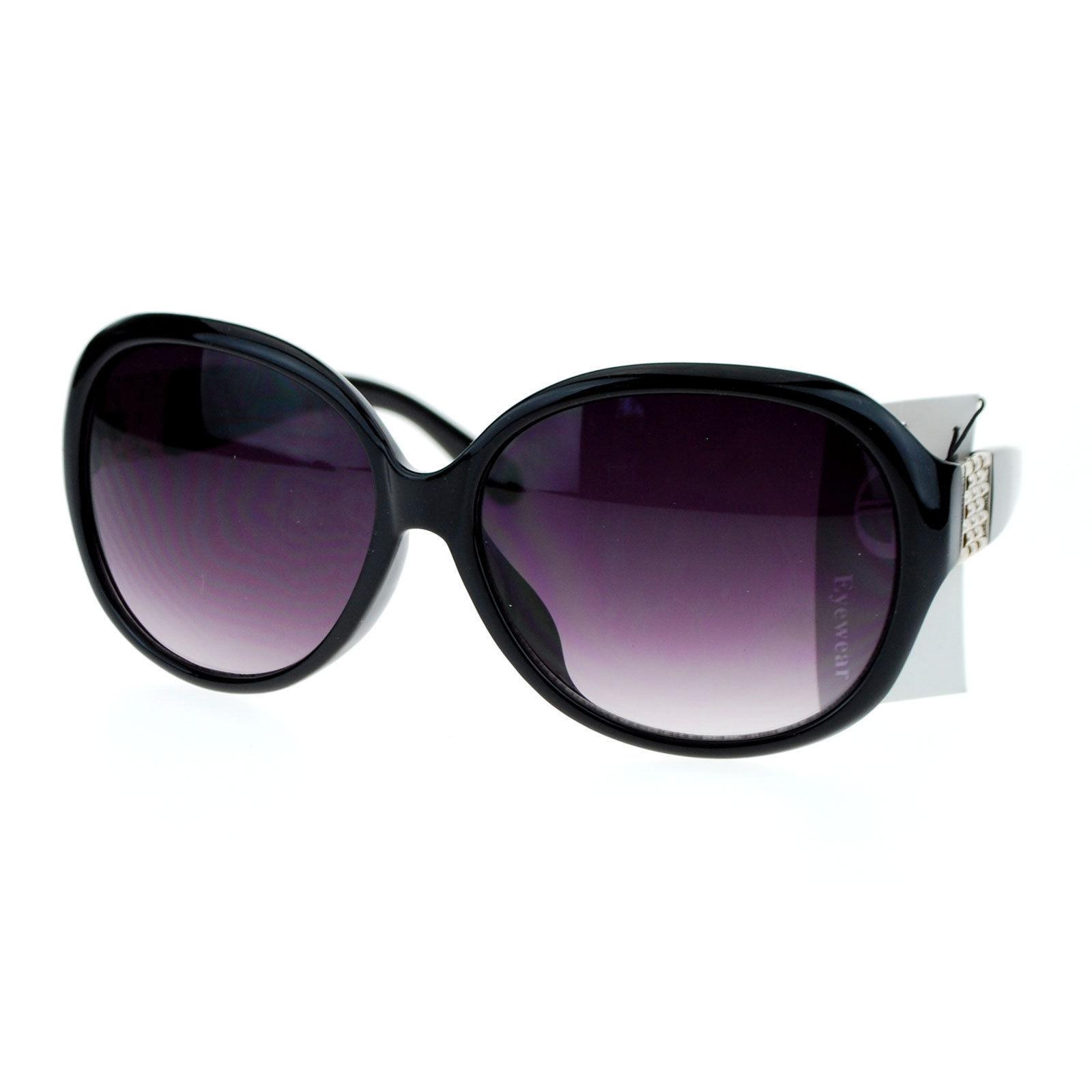 Fashion Womens Sunglasses Oversized Round Designer Frame