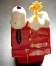 Westland Giftware Salt and Pepper Shaker Snoopy and Doghouse Peanuts Schulz Box - $12.99