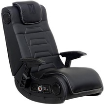 X Video Rocker Pro Series H3 4.1 Wireless Audio Gaming Chair, Black, 51259  - $216.10