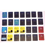 Playstation 2 Sony MagicGate 8MB Memory Cards Lot Of 28 - $129.99