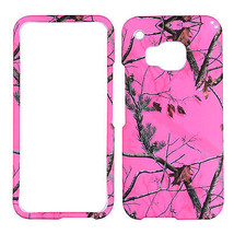 For HTC One M9 Pink Camo Mozzzyyy RT  Phone Protection Case Cover Prl - $8.07