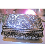 Haunted MAGNIFYING MAGICK EMPOWER ENERGIES SILVER CHEST WITCH Cassia4  - $42.77