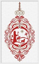 Shepard Ornament cross stitch chart Alessandra Adelaide Needlework - $15.30