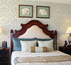 Anna Stencil Damask - DIY reusable wall stencils. Better than wallpaper! - $49.95