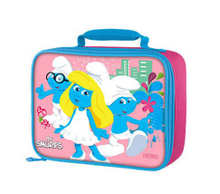 SMURFS LUNCHBOX.comes with a pink food jar! - $13.99