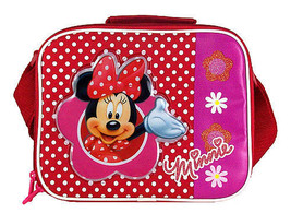 MINNIE MOUSE-INSULATED LUNCHBOX-comes with chillpak sandwich box - $22.25