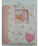 Baby Girl Shower Gift Memory Book Newborn First Years Pink Photo Album Record - $18.99