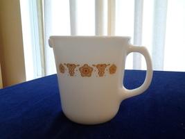 Pyrex Pitcher Golden Butterfly 9 oz Creamer #30  Pitcher VG - $7.99