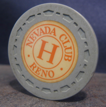 """1954 Roulette Chip From: """"The Nevada Club""""- (sku#3495) - $3.99"""