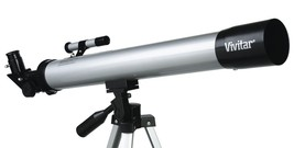 Hot Sale! $15 Vivitar TEL50600 60X/120X Telescope Refractor with Tripod ... - $15.75