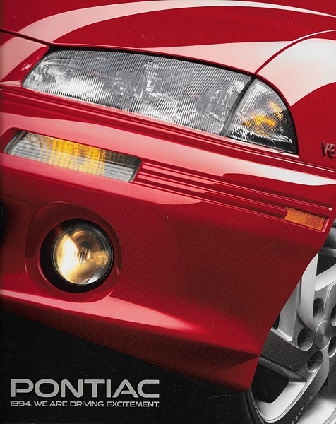 2002 Pontiac Aztek Bonneville Firebird Grand Am Grand Prix Sunfire FL Brochure