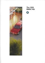 1995 BMW 740i sales brochure catalog 1st Edition US 95 7-SERIES - $12.00