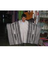 Peruvian Poncho,outerwear, alpaca wool, grey coat - $88.00