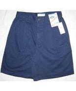 Old Navy Singe Pleat Shorts Navy Cotton Size 6 New - $5.00