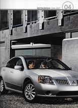 2004 Mitsubishi GALANT sales brochure catalog 04 US ES LS GTS - $6.00