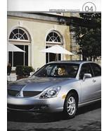 2004 Mitsubishi DIAMANTE sales brochure catalog 04 US ES LS VR-X - $8.00