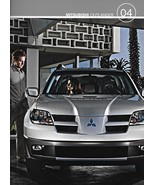 2004 Mitsubishi OUTLANDER sales brochure catalog 04 US LS XLS - $8.00