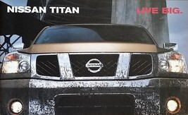 2004 Nissan TITAN sales brochure catalog HUGE INTRO US 04 5.6 - $8.00