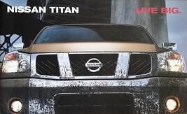 2004 Nissan TITAN sales brochure catalog HUGE INTRO US 04 5.6 - $8.00