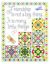 Little Things 2 friendship cross stitch chart Imaginating - $5.40
