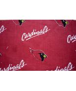 Arizona Cardinals Cotton Fabric Logo Fabric FQ 18 x 29 - $3.00