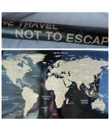 NEW Scratch Off World Map Travel Large Poster USA Flag Edition + Scratch... - $19.61