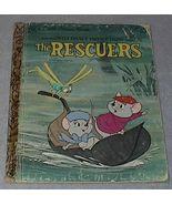 Walt Disney's The Rescuers Vintage 1977 Little Golden Book D136 - $5.00