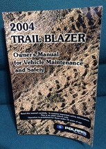 Polaris Owner's Manual Book 2004 Atv Trail Blazer 119 Pages Usa Printed - $12.08