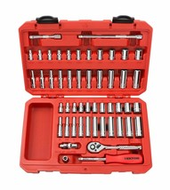 TEKTON 1/4-Inch Drive Socket Set, Inch/Metric, 6-Point - $87.38