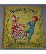 Nursery Songs #7 Vintage 1942 Little Golden Book  - $9.95