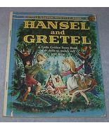 Hansel and Gretel Vintage 1961 A Print Little Golden Activity Book - $24.95