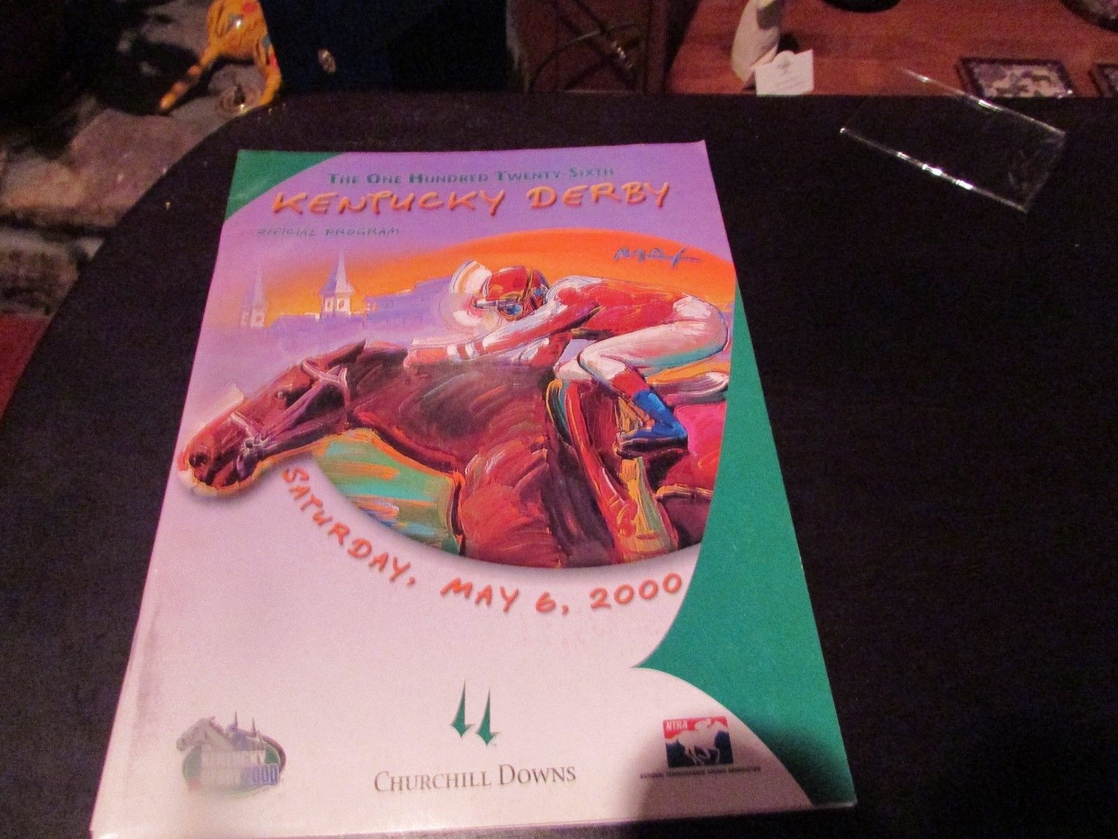 Primary image for 126th KY  DERBY MINT PROGRAM- 2000  Fusaichi Pegasus