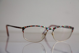 ZEISS Eyewear, Gold Frame, Multi-color pattern,  RX-Able Prescription lens. - $54.70