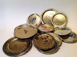Vintage Collectible Metal Canning Lids For Crafts - $2.99