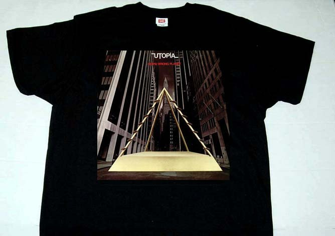 UTOPIA oops! wrong planet T shirt ( S - XL )
