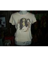 ZION ROOTSWEAR BOB MARLEY Adorable Tan Tee Shirt Size M - $7.92