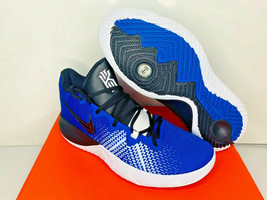 NIB SIZES 9.5-15 MEN Nike Kyrie Flytrap DUKE Basketball Shoes Blue White... - $64.79