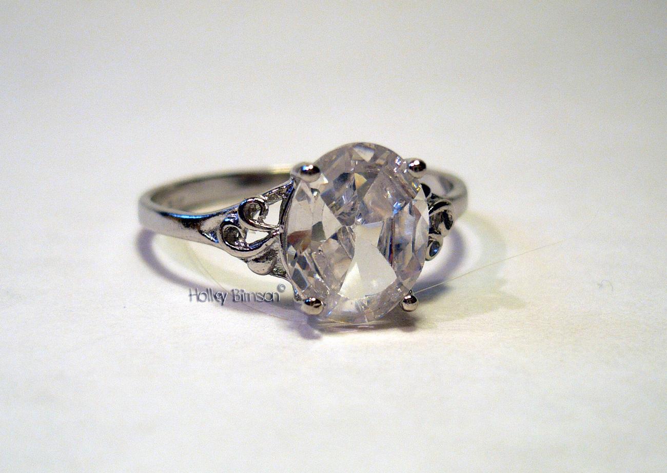 Gemstone Sterling Silver Ring   # 11 Bonanza