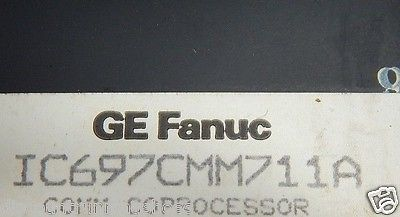 GE Fanuc Communications IC697CMM711A IC697CMM711 CoProcessor Module PCM