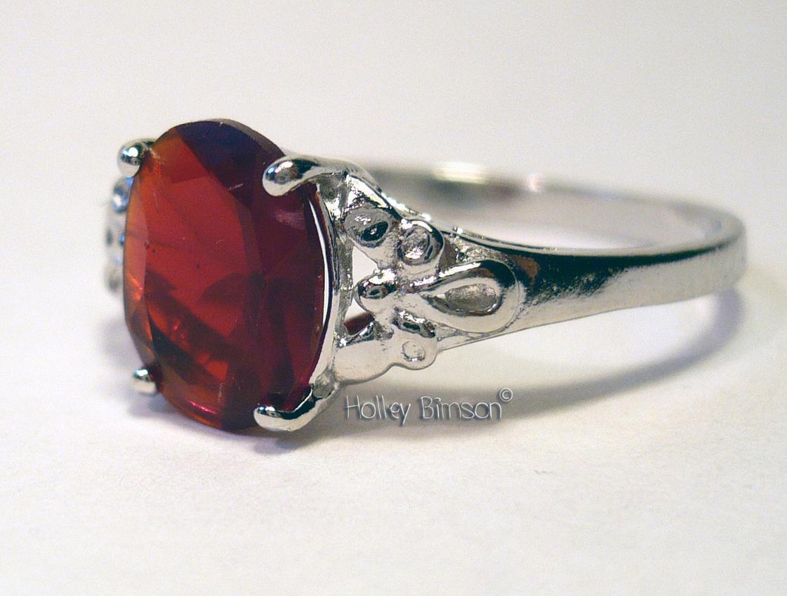 Gemstone Sterling Silver Ring   # 12 Bonanza