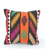 kilim,throw pillow kilim,bohemian decor,throw pillow,decorative throw pi... - $14.00