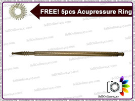 Sujok golden metal Hi Quality  jimmy massager acu. Acupuncture therapy - $8.34