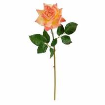 "Modern Salmon 20? Rose Artificial Flower (Set of 6) - 20"" - $80.18"