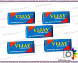 New Vijay Stainless Double Edge Safety Razor Blades- Genuine Pack of 10