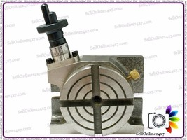 "Best Quality 4"" Mini Rotary Table - Milling Machines -Brand New Tools An... - $98.99"