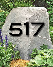 Set of 3 House Numbers or Letters / 2 Inch up to 8 Inch  / Address / Metal - £33.98 GBP