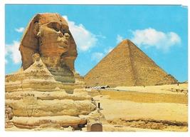 Africa Egypt Great Sphinx Kheops Pyramids Giza Lehnert & Landrock Postca... - $4.99