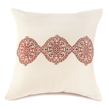 Exotic Embroidery Throw Pillow - $39.95