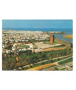 Maroc Morocco Rabat Mausolee Mohammed V Aerial View Vintage Postcard 4X6  - $4.99